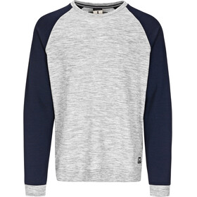 super.natural Essential - T-shirt manches longues Homme - gris/bleu